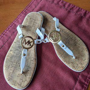 Michael Kors White Sandals Size 7